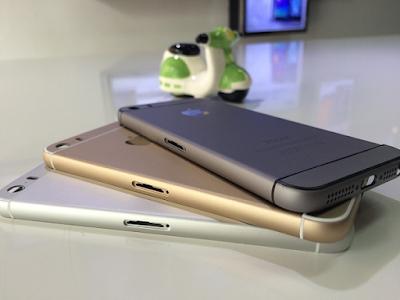 Thay vo dien thoai iPhone 5 len 6