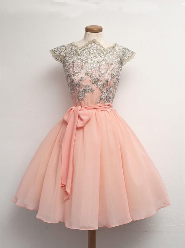 https://www.dressthat.com/short-homecoming-dress-a-line-high-neck-short-mini-chiffon-lace-sashes-cap-sleeves-zipper-up.html