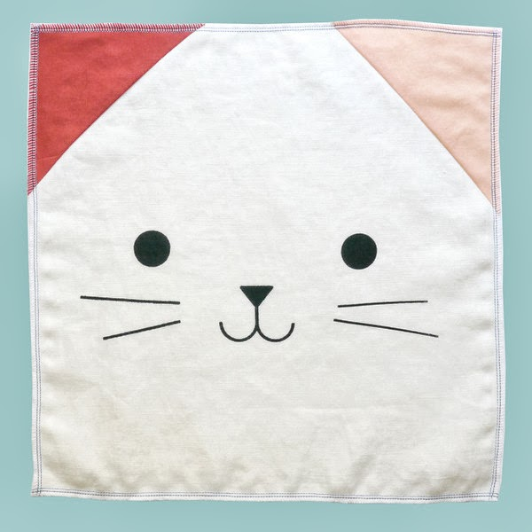 cat themed napkin - fun products for cat people