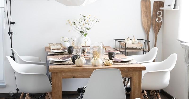 herbstlich tischdeko creativlive. Black Bedroom Furniture Sets. Home Design Ideas