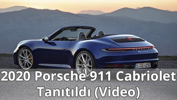 2020 Porsche 911 Cabriolet Özellikleri