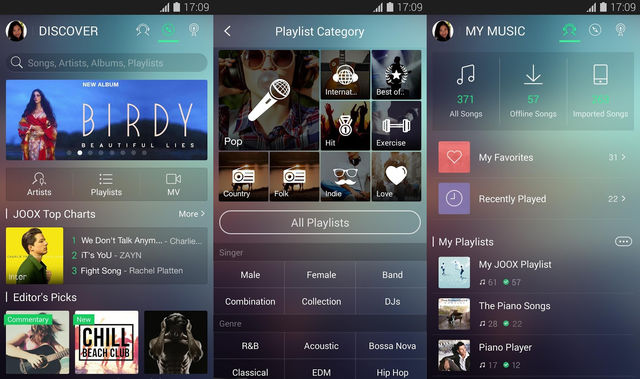 Joox Best Music App For Android Phone