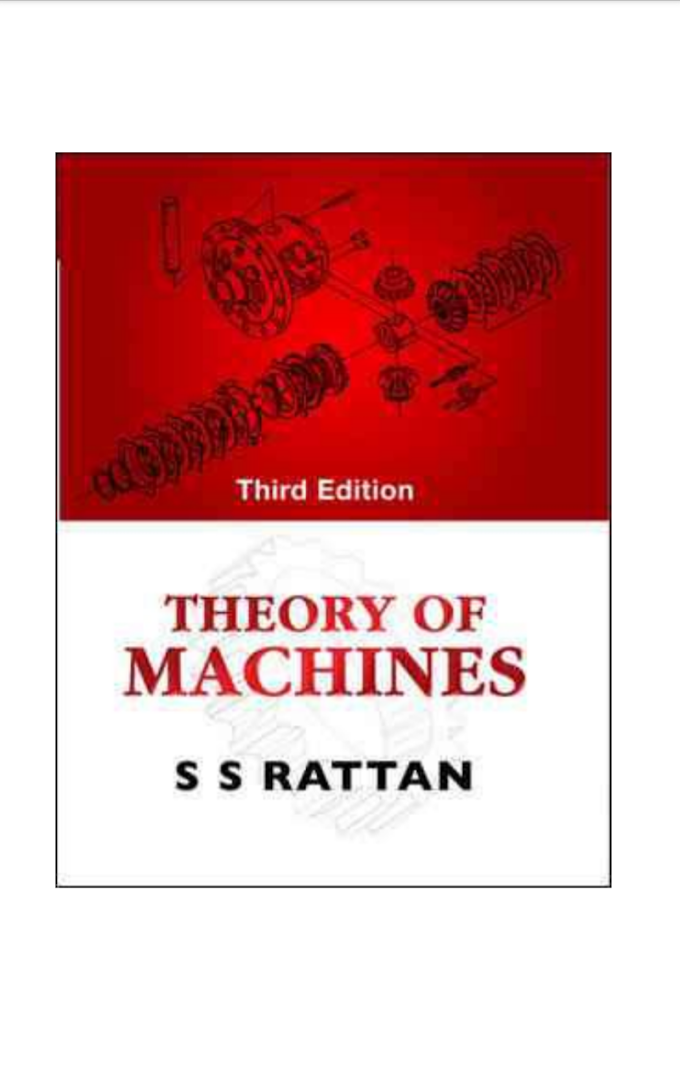 [PDF] Download Theory of Machines By SS Rattan Book Pdf