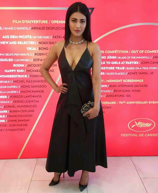 Shruti Hassan at Cannes 2017 Event Stills