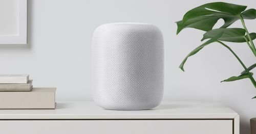 smart speaker apple homepod