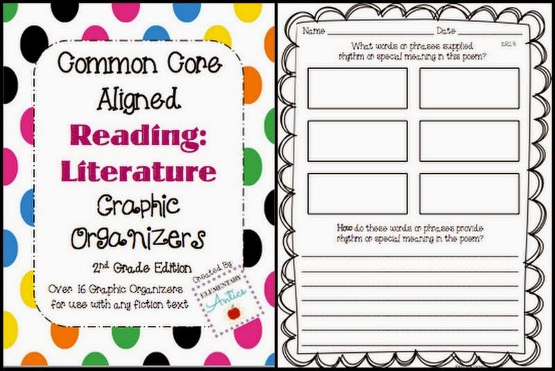 http://www.teacherspayteachers.com/Product/Reading-Literature-Graphic-Organizers-Pack-Common-Core-Aligned-874112