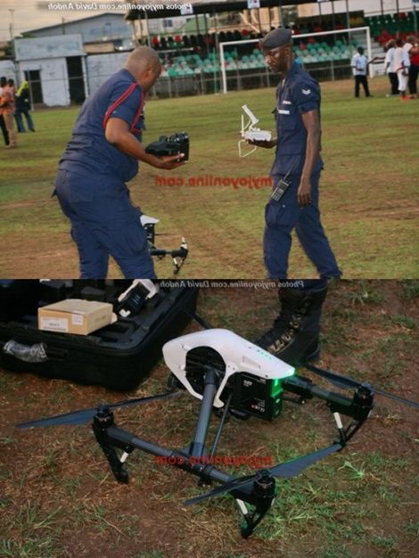 Police To Use Drones To Monitor NDC Manifesto Launch