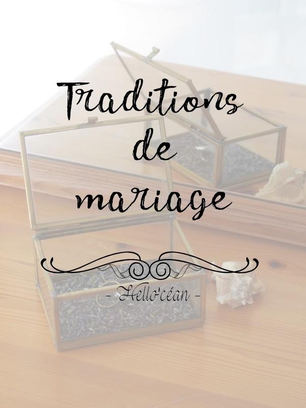 7 traditions de mariage que nous suivrons