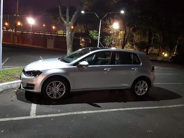 VW Golf 1.6 Automático Prata Sargas