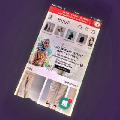 Jual jilbab online di Hijup.com