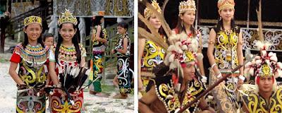 keunikan pakaian adat kalimantan timur media pendidikan rh kurtilas sd blogspot com