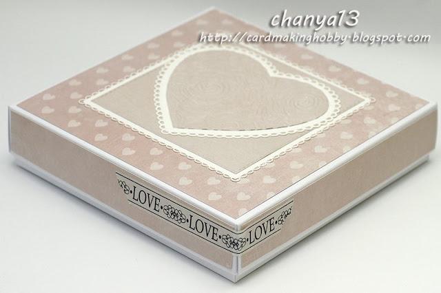 pudełko na ślubną kartkę