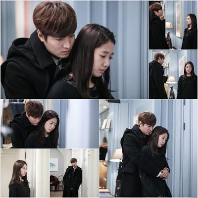 Foto Lee Min Ho dan Park Shin Hye