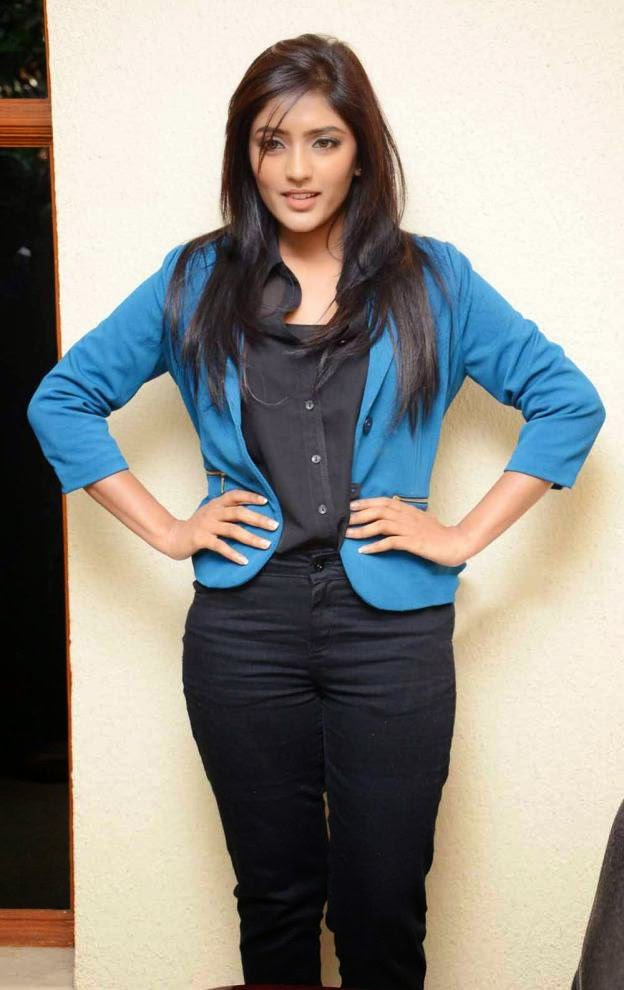 Actress Eesha Latest Cute Hot Spicy Photos Gallery At Bandipotu Telugu Movie Press Meet