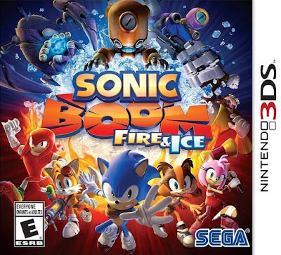 Sonic Boom Fuego  Hielo 3DS  Decrypted USA