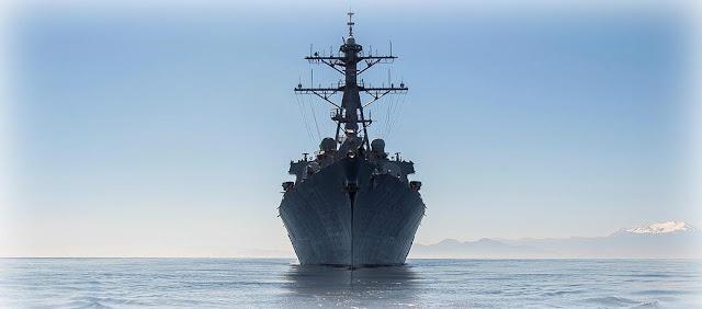 Участвовавший в ударе по Сирии ракетный эсминец США вошел в Черное море