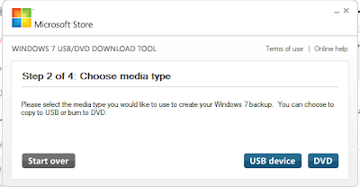 Windows 7 USB/DVD Tool