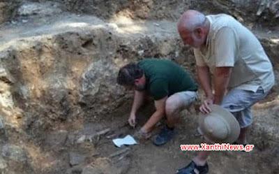 Βρέθηκε αρχαίος τάφος πριγκίπισσας της Θράκης