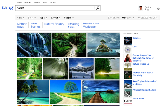 Bing Rolls Out New Look For Image Search With Cool New