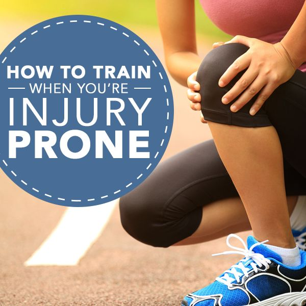 How to Train When You're Injury Prone