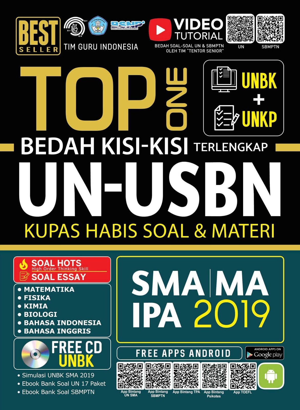 TOP One Bedah Kisi-kisi Terlengkap UN-USBN SMA/MA IPA