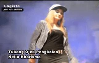 Lirik Lagu Tukang Ojek Pengkolan - Nella Kharisma