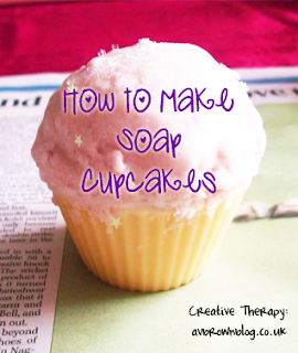 How to Make Soap Cupcakes