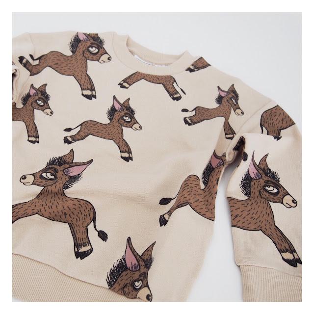 Mini rodini donkey sweatshirt