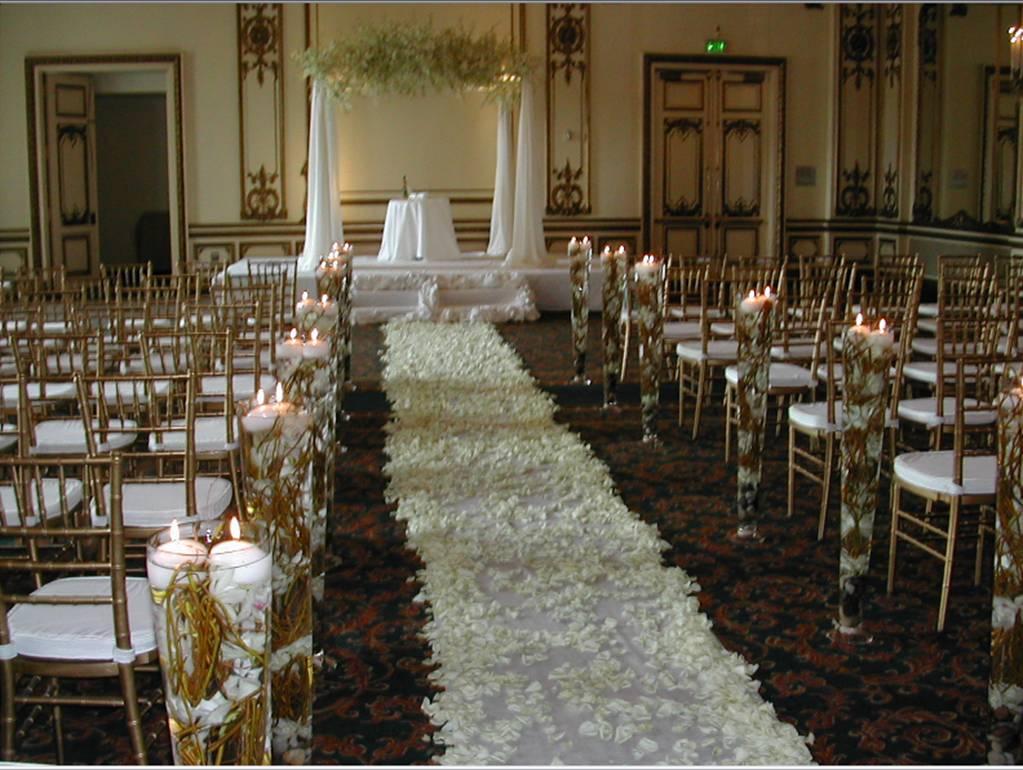 Wedding Ceremony Decorations: Coordination Wedrose: Wedding Decor Segment 6: The Ceremony