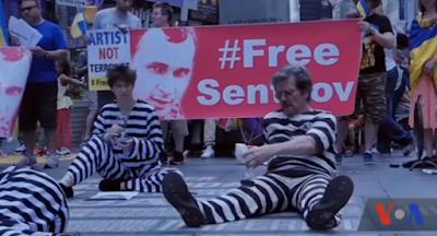На Майдані відбулася акція на підтримку Сенцова