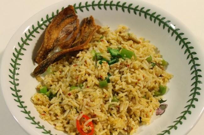 Nasi Goreng Ikan Bilis