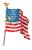 flag american patriotic image illustration clipart digital
