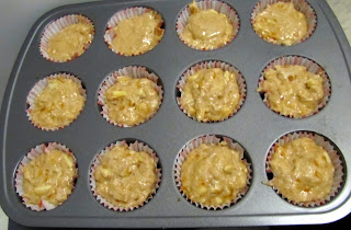 whole wheat marmalade muffin batter