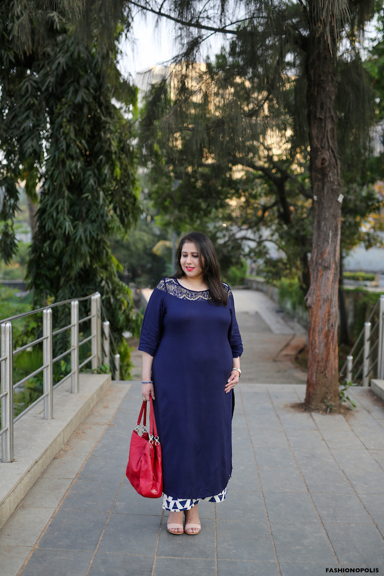 Plus Size Fashion Blogger India