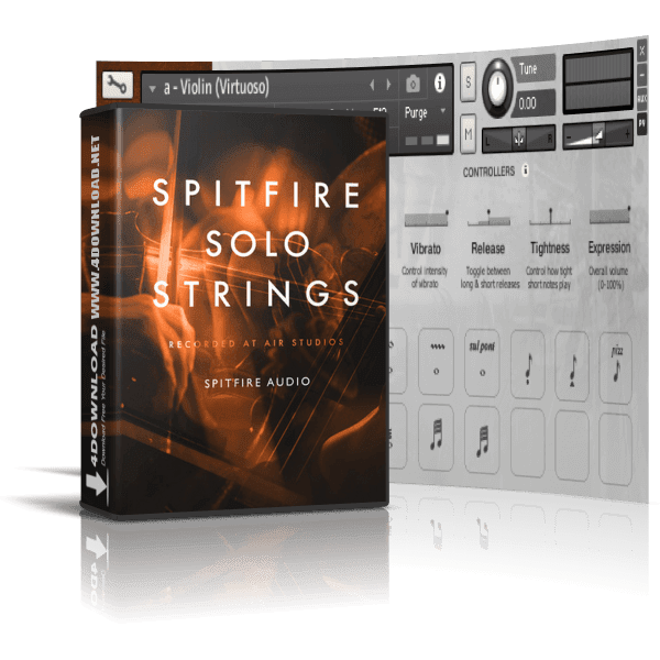 Spitfire Audio - Spitfire Solo Strings KONTAKT Library