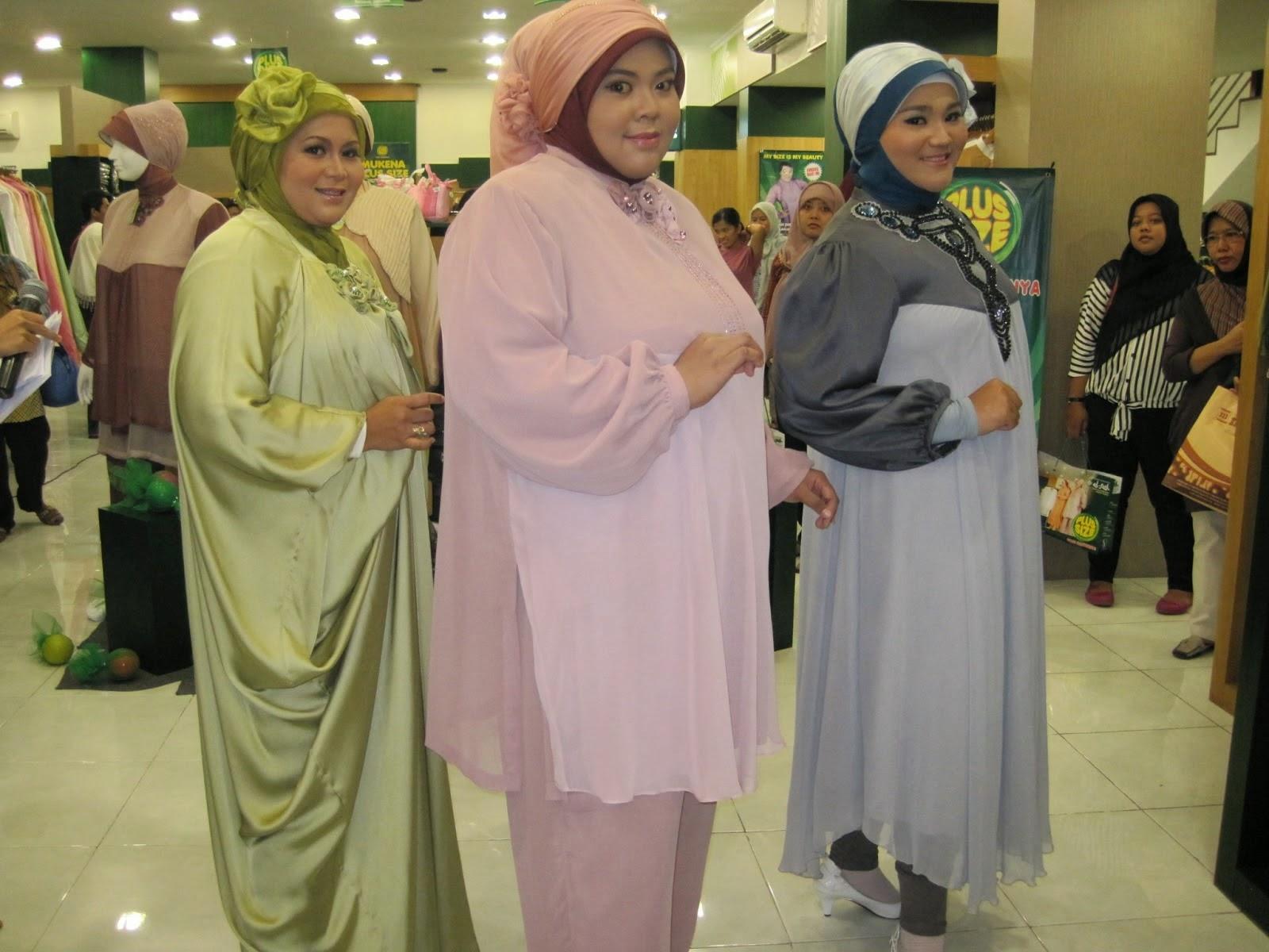 Contoh Model Baju Gamis Untuk Orang Gemuk Pendek