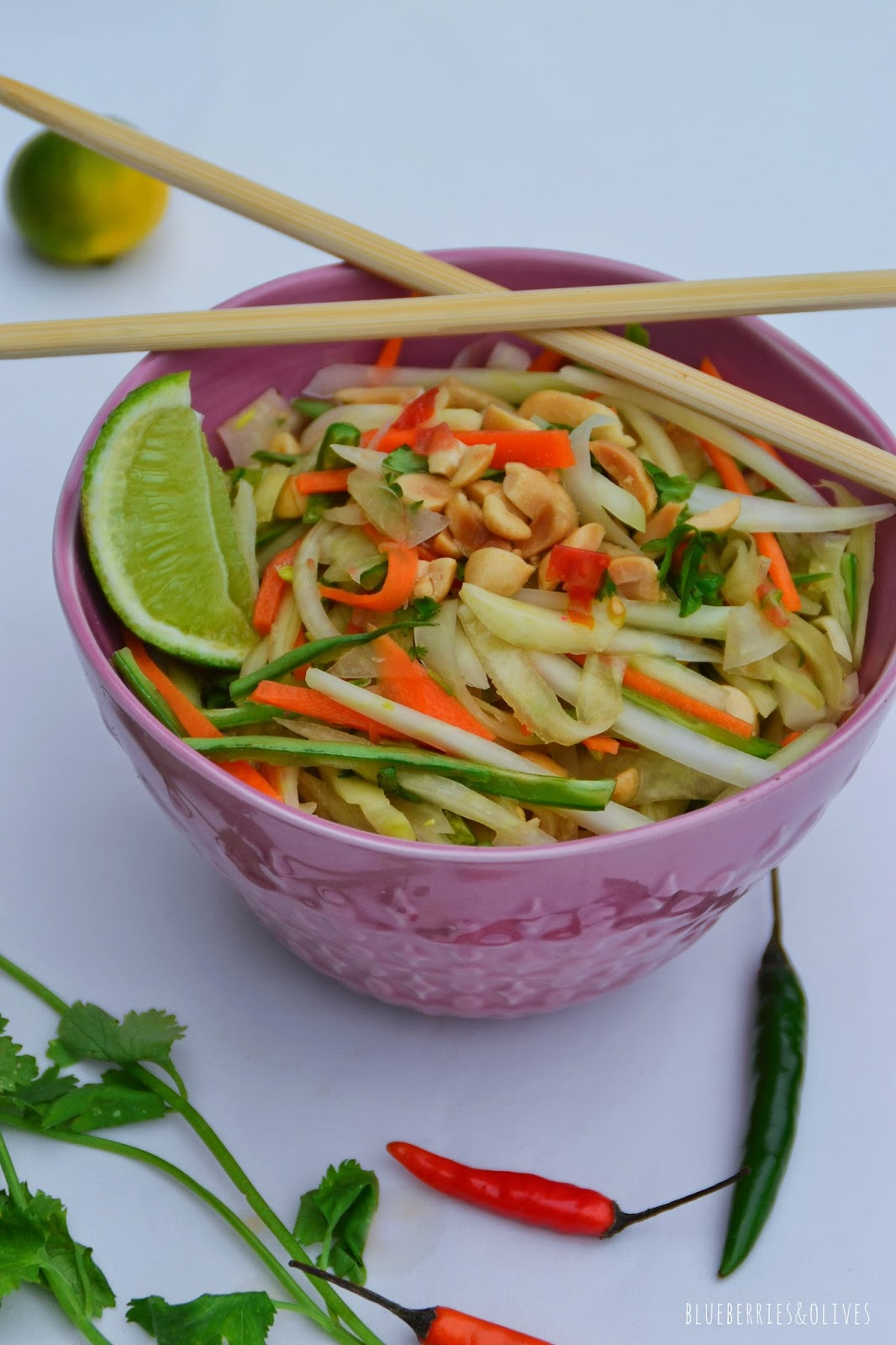 SOM TAM THAI GREEN PAPAYA SALAD