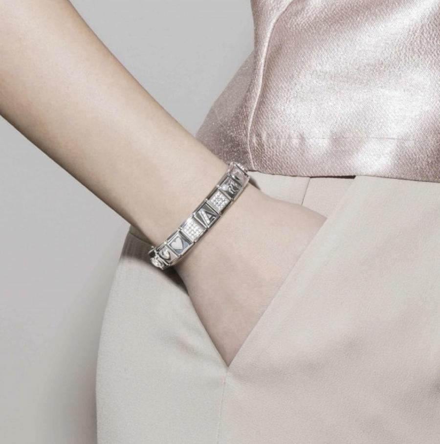 bracciale argento tendenza