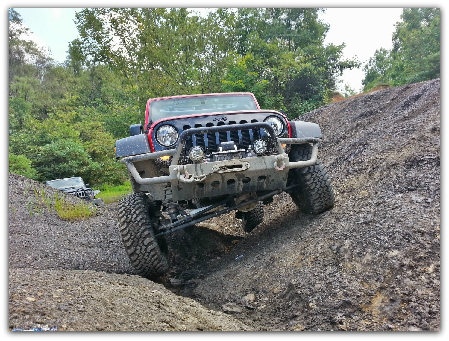 Jeep Trails Jeep Off Road Trail Of The Month Larry His Willys Under The