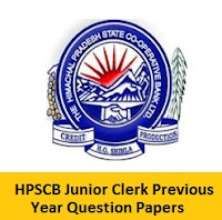 HPSCB Junior Clerk Previous Year Question Papers