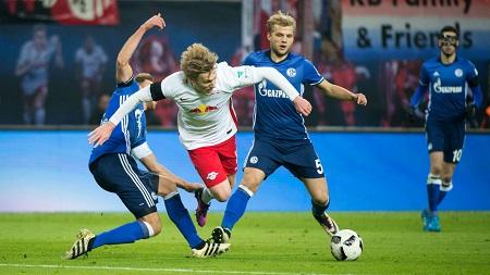 Assistir  Schalke 04 x RB Leipzig ao vivo grátis em HD 19/08/2017