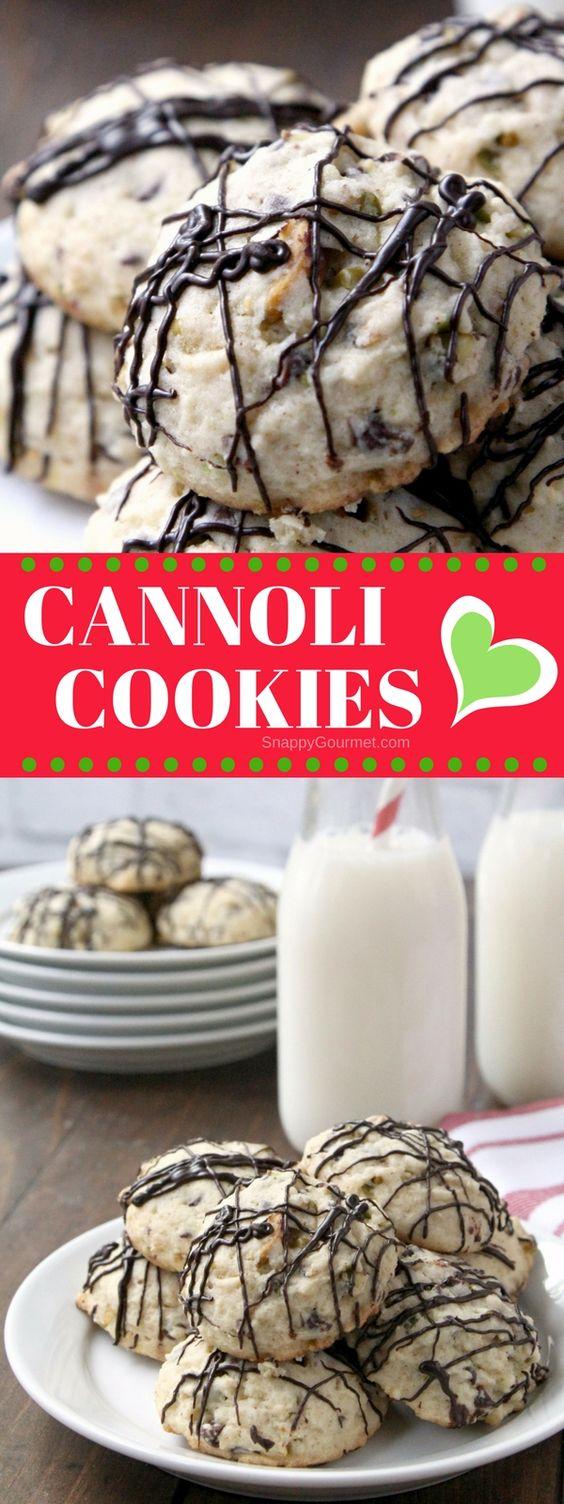 HOLY CANNOLI COOKIES RECIPE (ITALIAN CHRISTMAS COOKIES)