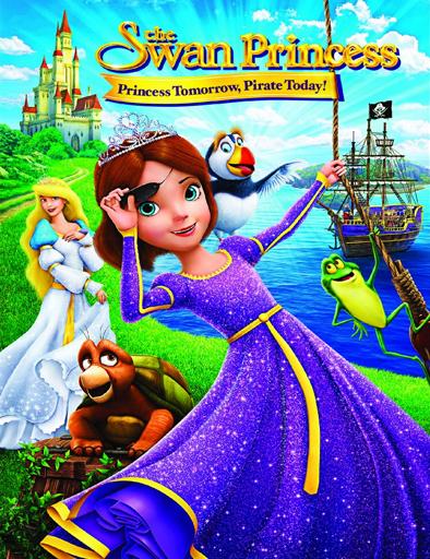 Ver La princesa cisne: Aventura pirata (2016) Online