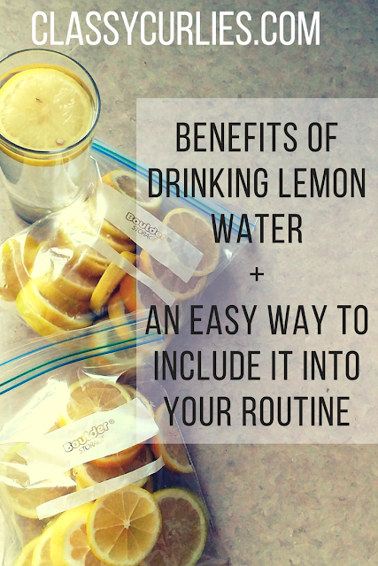 Why you should drink lemon water every day - ClassyCurlies