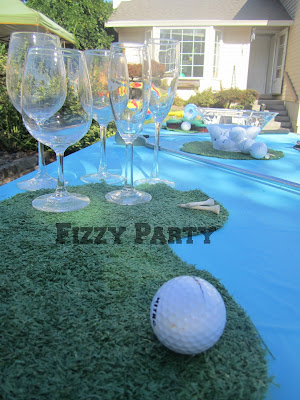 retirement party, golf party