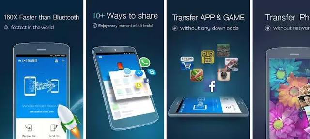 CM Transfer - Aplikasi Sharing File Terbaik