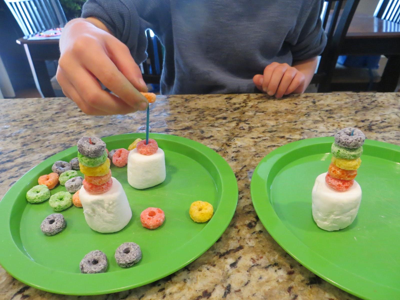 Brainstorm In Bloom Fruit Loop Rainbow Stacker Single Stem Idea