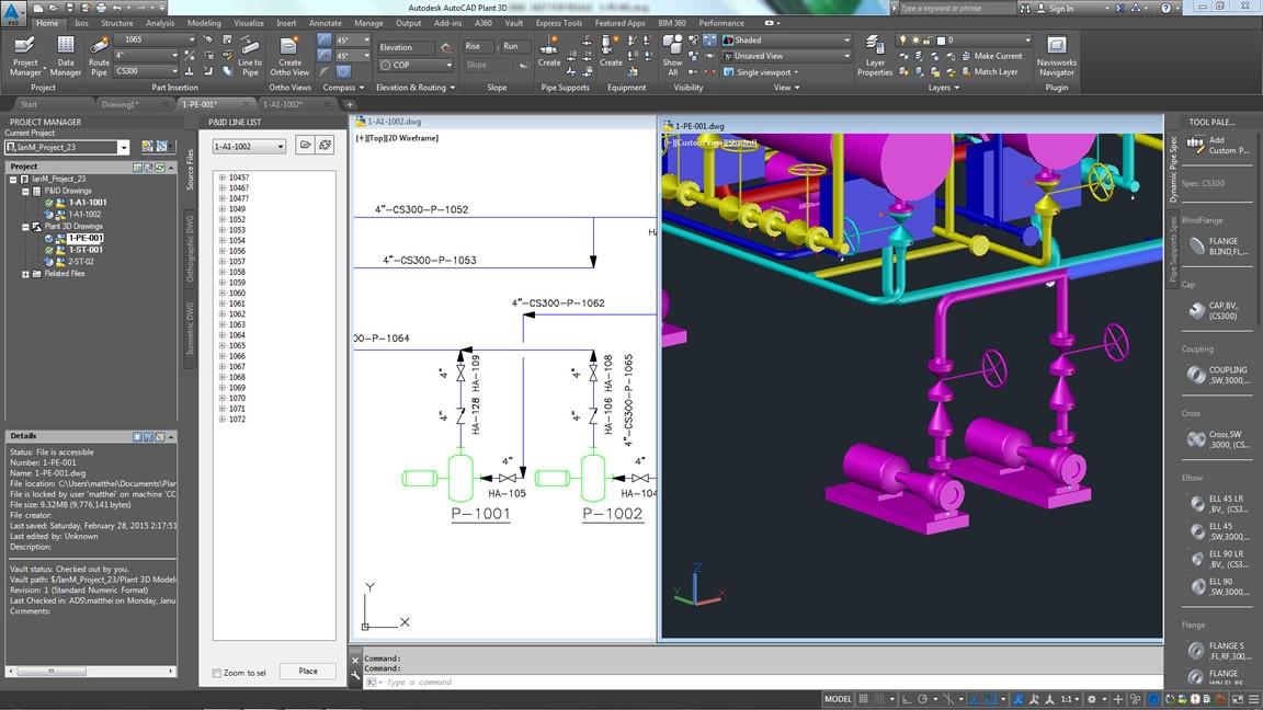 P&ID en plantas industriales