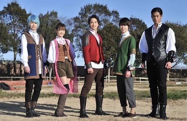 Inilah Para Pemeran Kishiryuu Sentai Ryusoulger