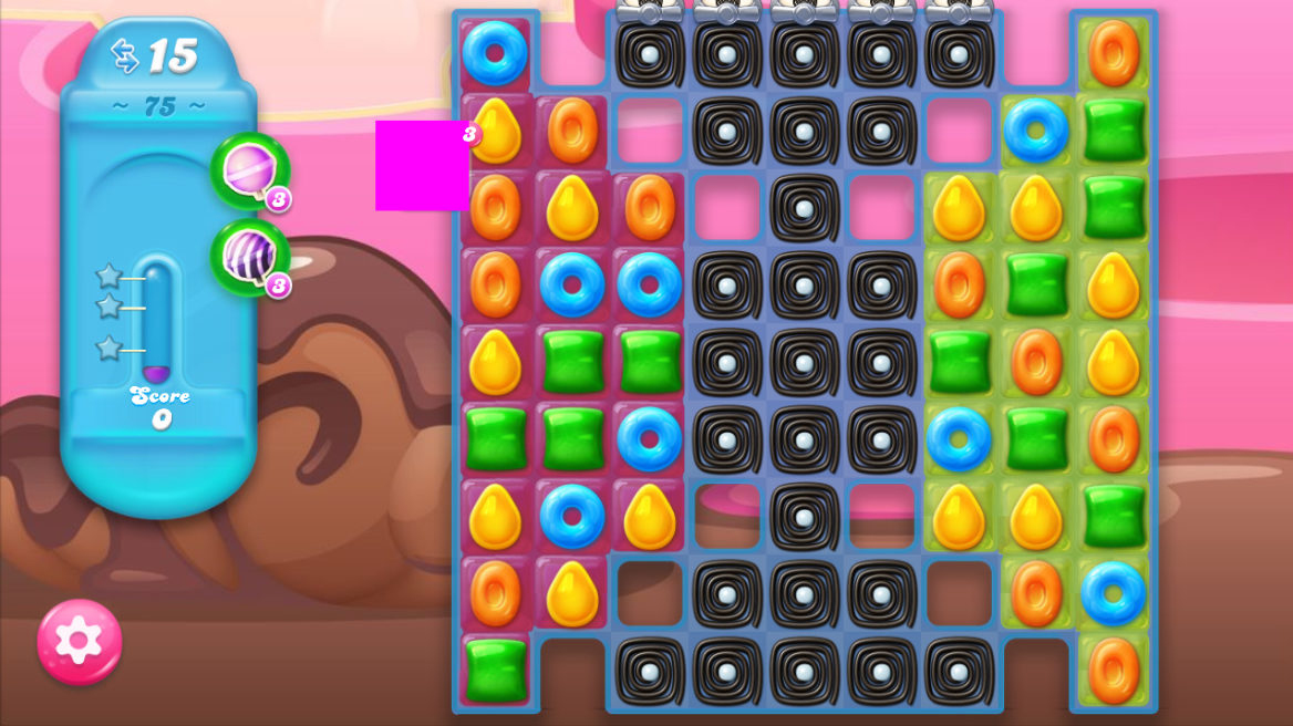 Candy Crush Jelly Saga saga 75